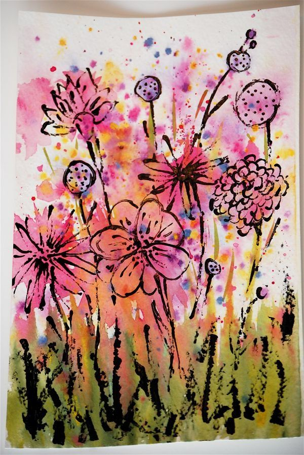 90 Easy Abstract Painting Ideas That Look Totally Awesome Abstract Painting Abstract Art Painting Abstract Watercolor