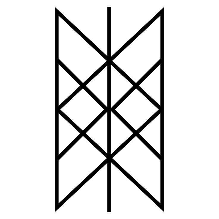 Web Of Wyrd Web Of Wyrd Wyrd Is A Feminine Noun And Its Norse Cognate Urdr Viking Symbols Viking Tattoos Norse Tattoo