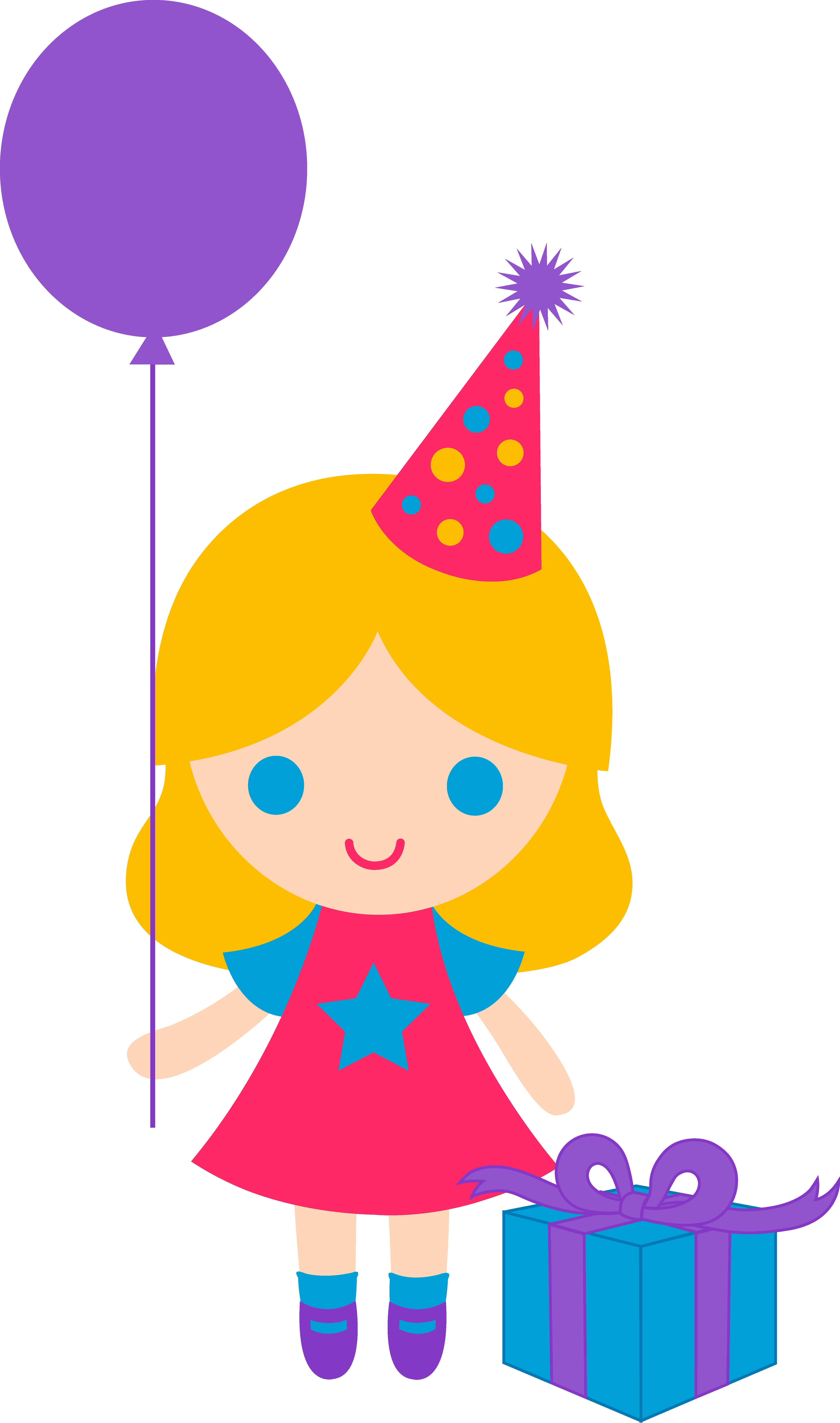 4986x8442 Birthday Cartoon Clipart Happy Birtday Cards