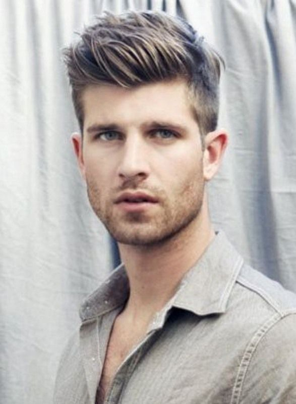 Pin by Christopher Sanner on Hair Style | Pinterest | Men hairstyles ...