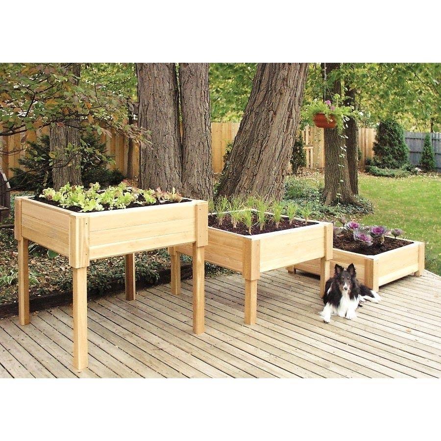 wood planter country cedar woodcountry reviews box outdoor wayfair pdx