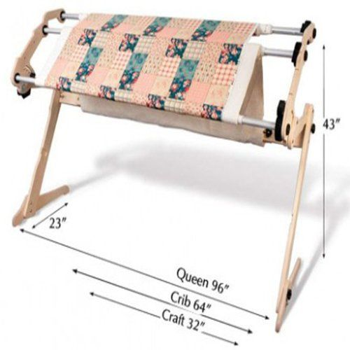 Grace Frame Start-Right EZ3 Fabric Fast Hand Quilting Frame-Plain ...