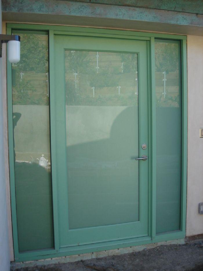 Model Single Entry Door W Sidelites Size 5 X 8
