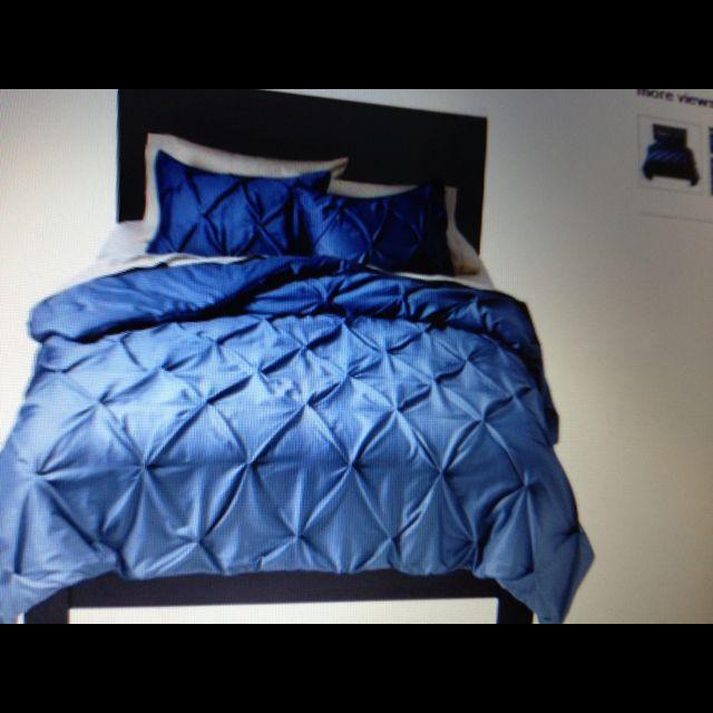 targetpuckering comforter set blue  comforter sets