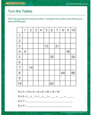 Printables Six Grade Worksheets 6th grade math worksheets printable free pichaglobal