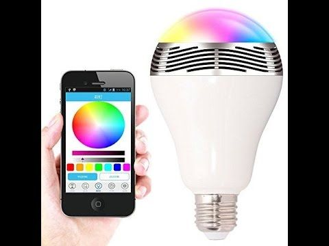 Sfeervolle Led Verlichting : Smart led lamp met bluetooth speaker led decoratief sfeervolle