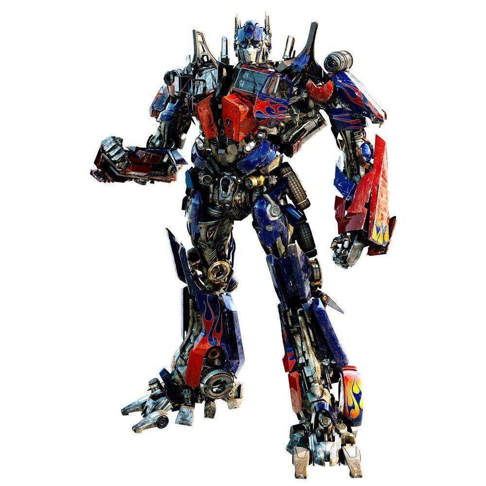 Transformers 3 Optimus Prime Giant Wall Decal RMK1617GM ...