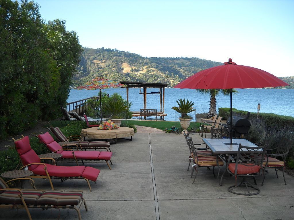 clearlake house rental lakefront vacation home with private beach