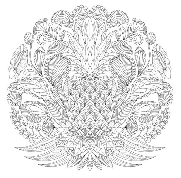 Tropical Wonderland by Millie Marotta adult colouring book ...