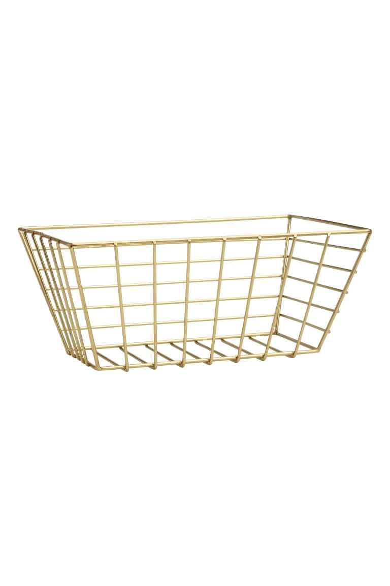 Small metal wire basket | Pinterest | Bedroom inspo, Wire basket and ...