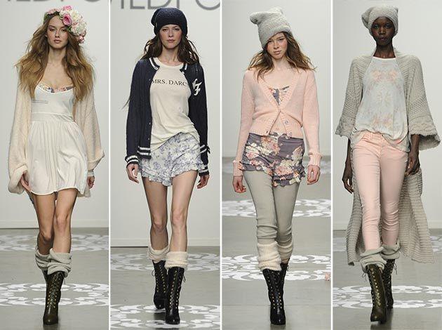 Wildfox Fall/Winter 2014-2015 Collection - New York Fashion Week  #NYFW #MBFW #NewYorkFashionWeek #fashion