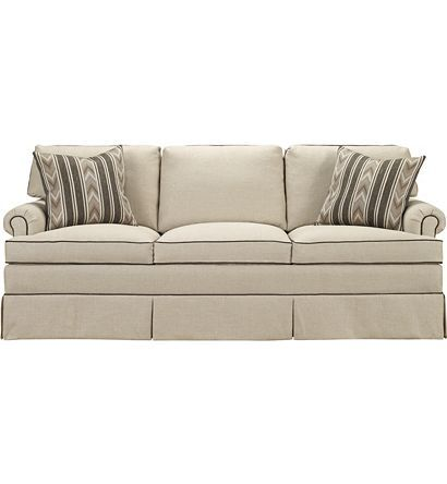 Guthery Sofa From The Upholstery Collection By Hickory Chair Furniture Co Hickory Chair Velvet Sofa Living Room Sofa