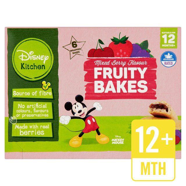 Disney Kitchen Mixed Berry Bakes 12+ Months | Ocado #disneykitchen