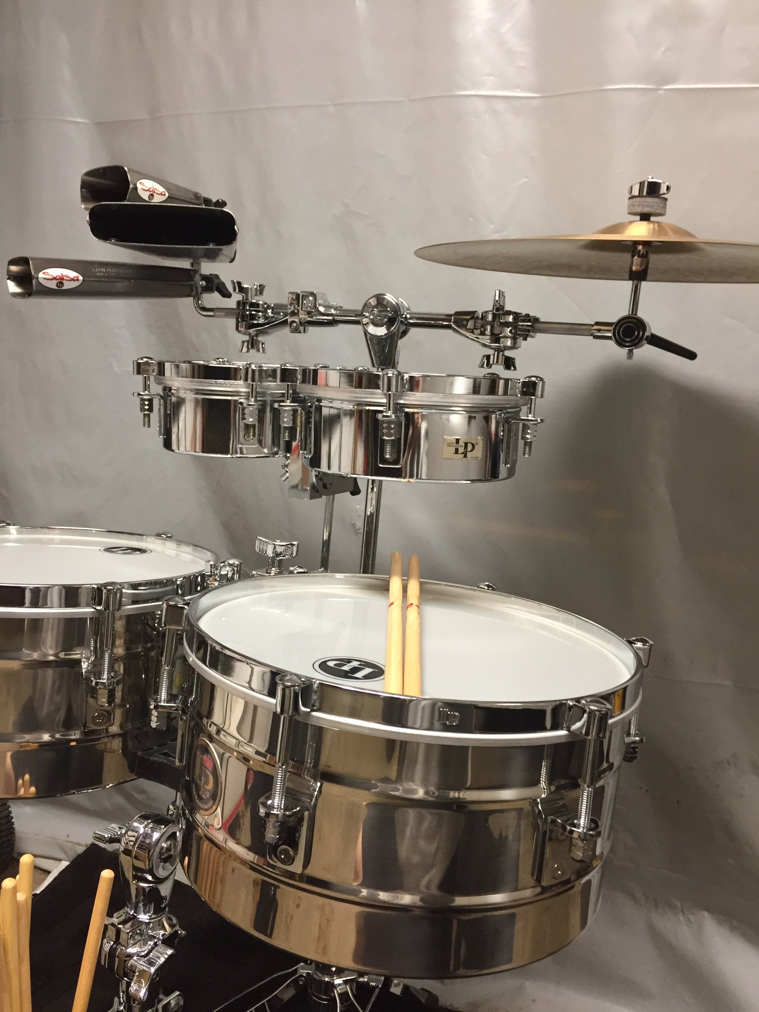latin percussion set up drums percussion drums drum kits. Black Bedroom Furniture Sets. Home Design Ideas