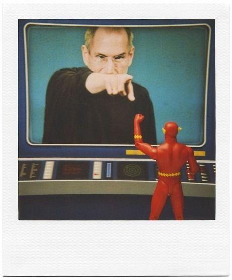 Steve Jobs Vs. The Flash