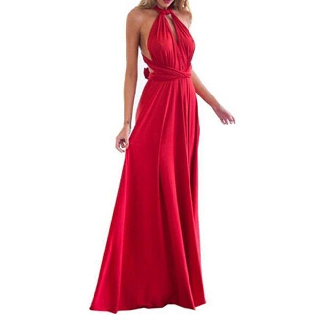 c36759d3e9b7f Vintage Boho Dress Bohemian Fashion Womens Summer Autumn Evening ...