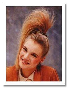 Fantastic 1000 Images About Hairstyles Of The 80S An 80S Fashion Guide On Hairstyle Inspiration Daily Dogsangcom