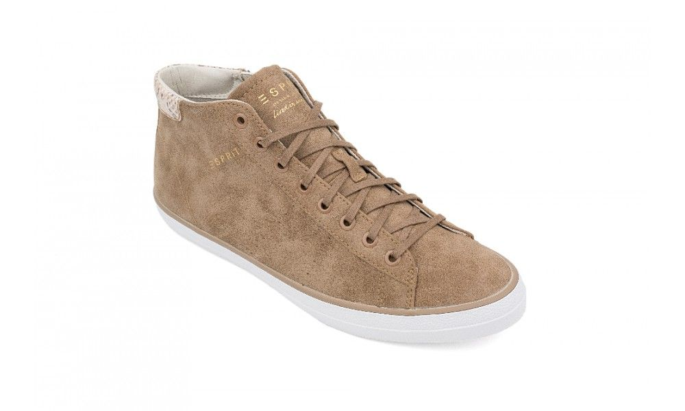 Veganer Sneaker - Esprit Miana Bootie Taupe   Ethical wardrobe ... c715411d84