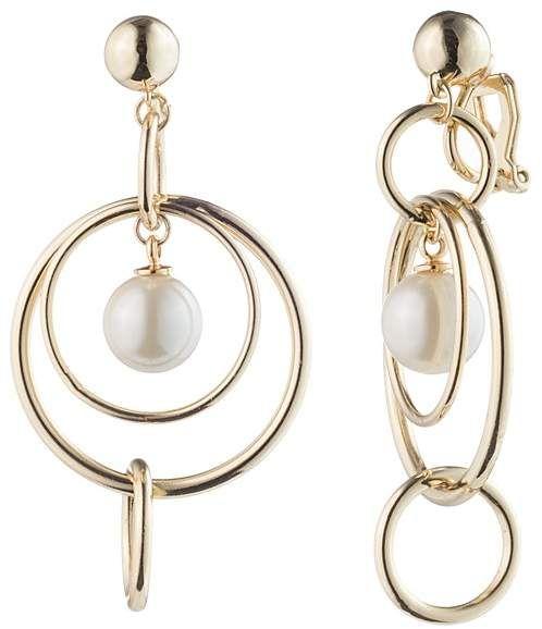 ae0d2af16 Ralph Lauren Orbital Linear Clip-On Earrings | fashion ELEMENTS ...