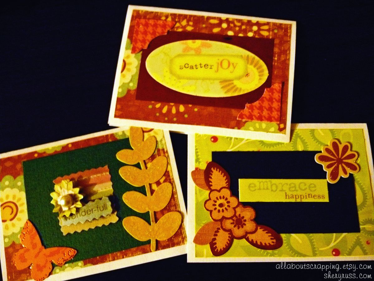 what can you do with old 4x6 blank index cards, some scrap paper and ...