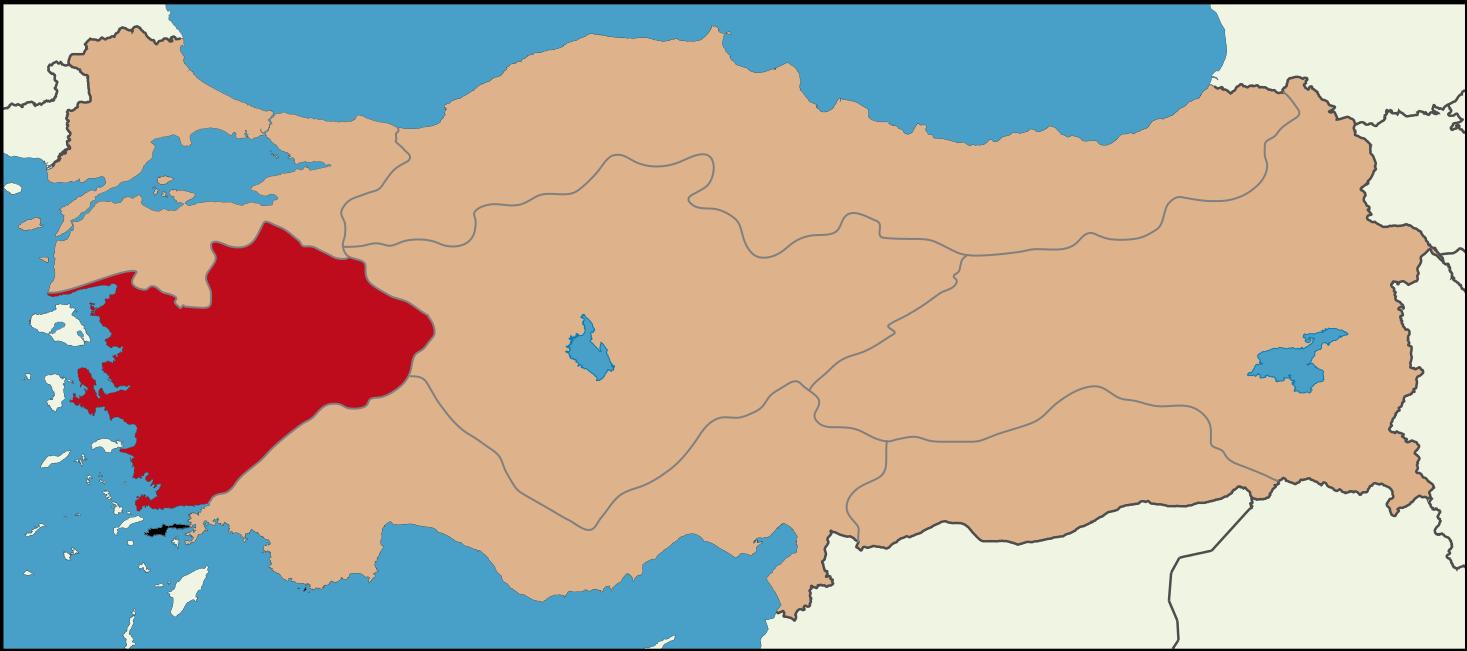 Aegean Region Ege Bolgesi One Of The 7 Geographical Regions Of Turkey Aegean Region Has The Longest Coastline Of The 4 Coas Turkey Places Black Sea Region
