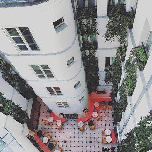 Le Patio Cache De L Hotel Grand Amour City Guides Pinterest
