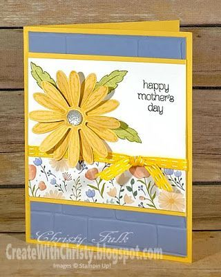 Daisy Delight Mother's Day Card