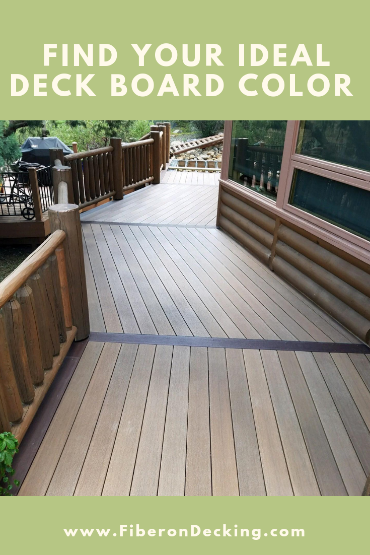 How to find your ideal composite deck board color   Deck