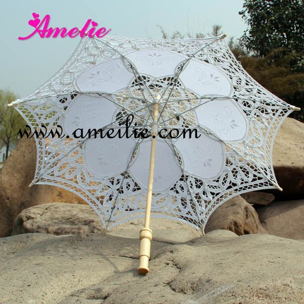 Free Shipping,Wedding Decoration,small children lace parasols umbrella(China (Mainland))