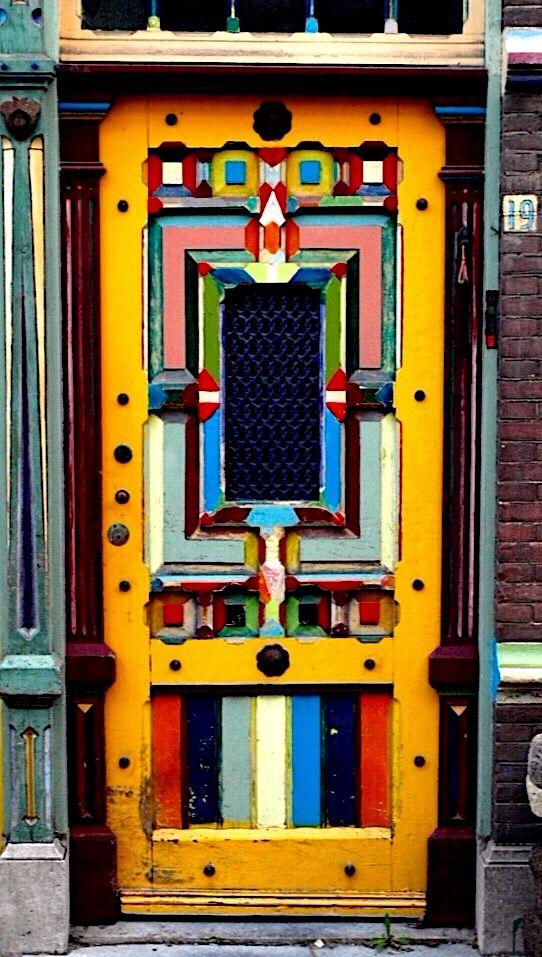 Door of colour South holland, Holland netherlands and Leiden - Oeil De Porte D Entree