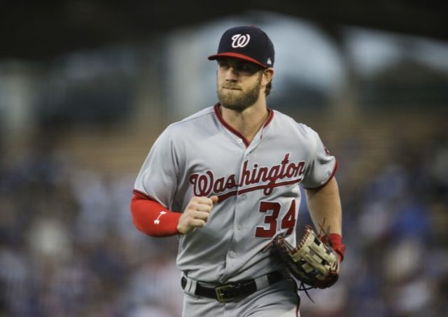 Bryce Harper temporarily saved Nationals day with 98.2 mph throw