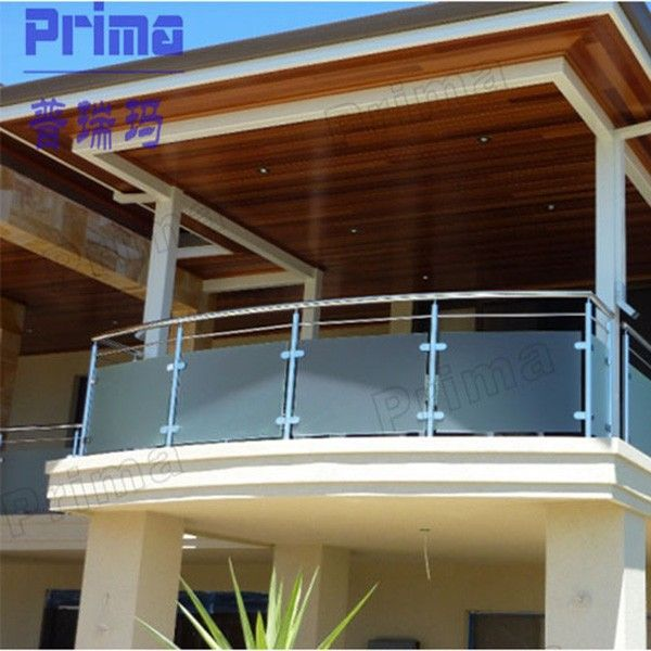Modern New Design Exterior Steel Balcony Railing Designs Photo