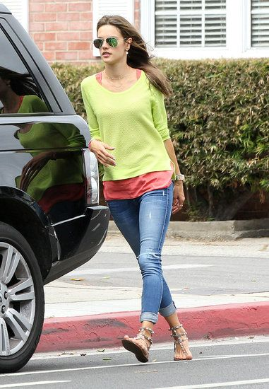 Alessandra in Black Orchid skinny jeans