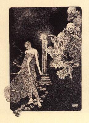 Marga Gil Roësset, crepúsculo eterno Ilustración del cuento ROSE DES BOIS - 1921.1923
