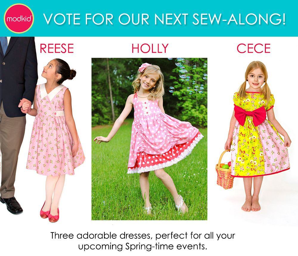 Voting for a Spring 2015 Sew-Along. | Modkid PDF Patterns | Pinterest