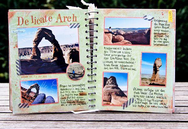 Pin von pauline leibe auf reisetagebuch fotoalbum gestalten scrapbook und reisetagebuch - Scrapbook ideen ...