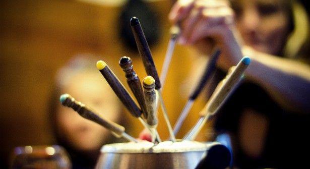 La fondue savoyarde et ses accompagnements