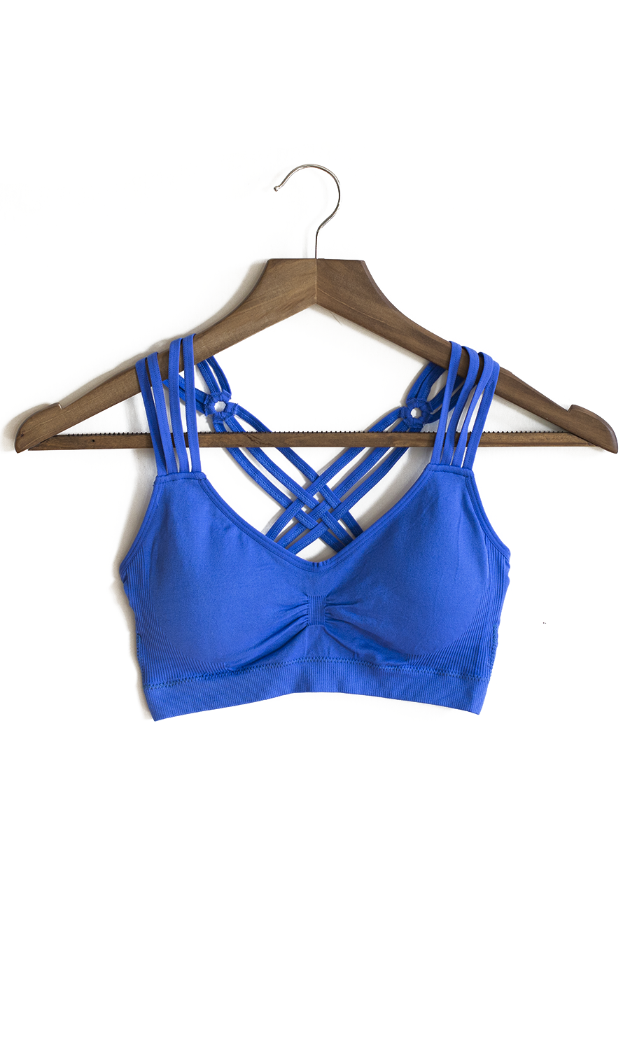 Sports Bra in Royal Blue Retail cost at other Boutique's