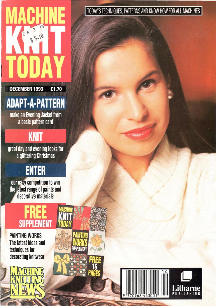 Machine Knit Today Magazine 1993.12 300dpi ClearScan OCR Free PDF Download