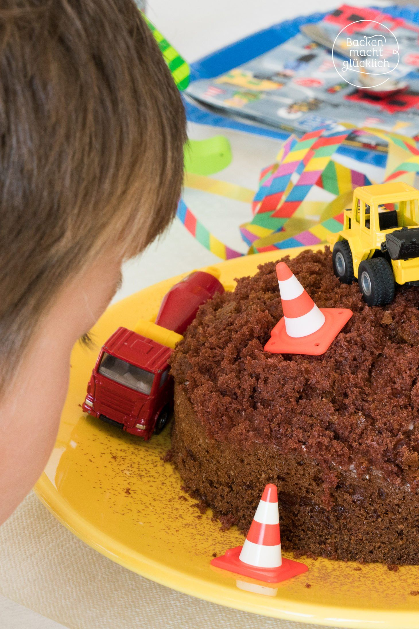 Einfache Baustellen Torte Rezept Backen Mit Kindern Rezepte