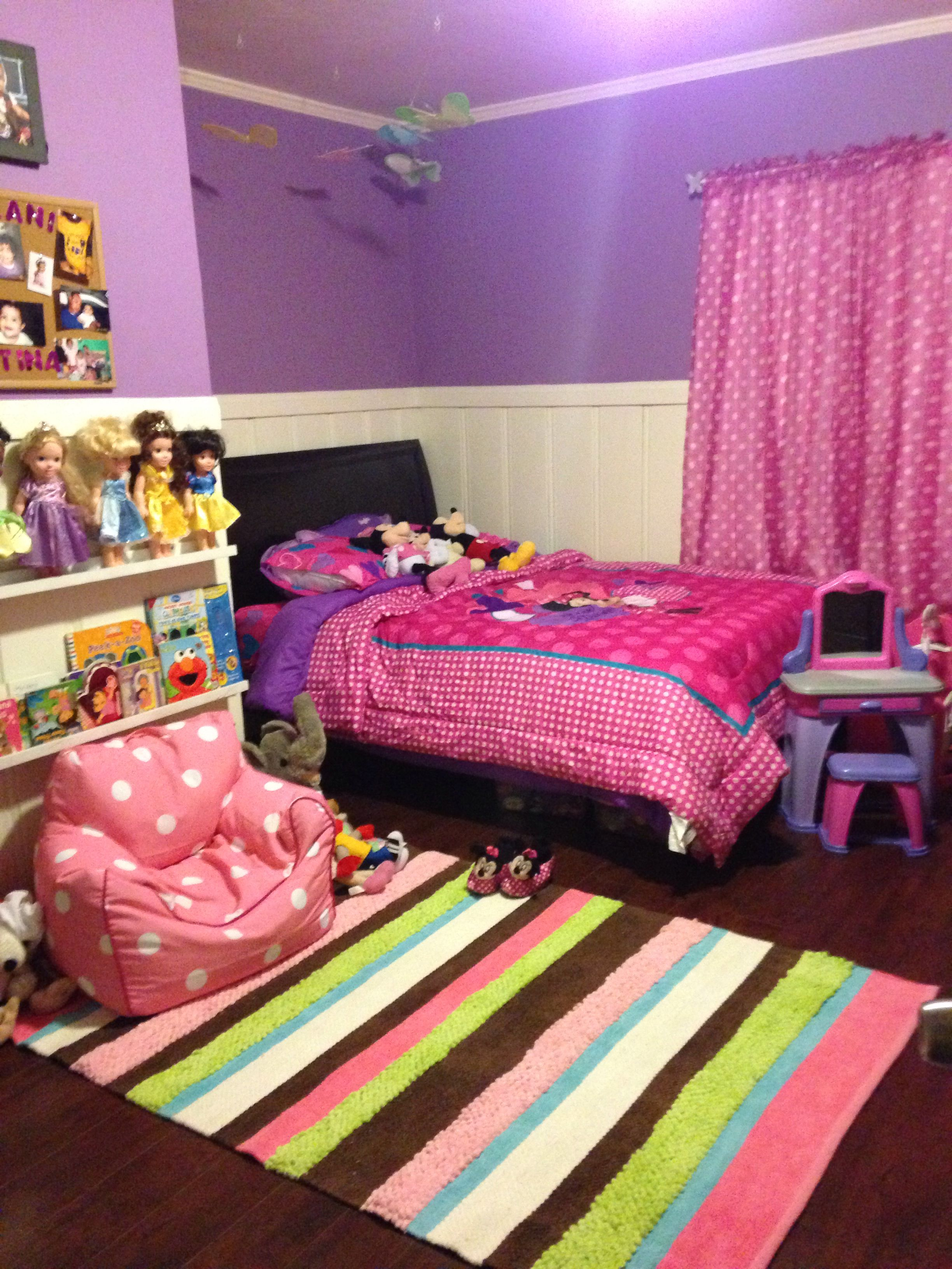 Minnie Mouse room  Home in 2019  Kids bedroom Girls