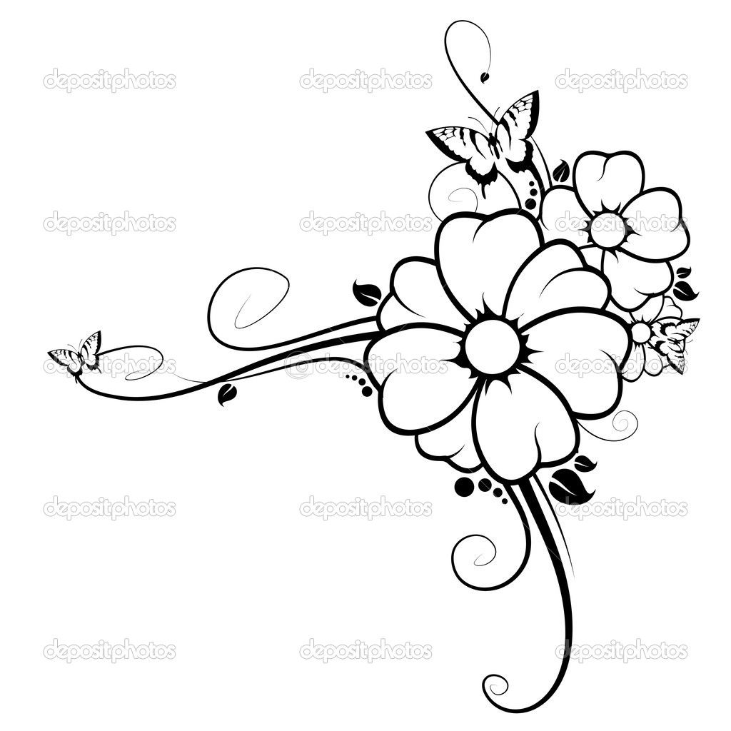 Flower Butterfly Wings Coloring pages colouring adult detailed ...