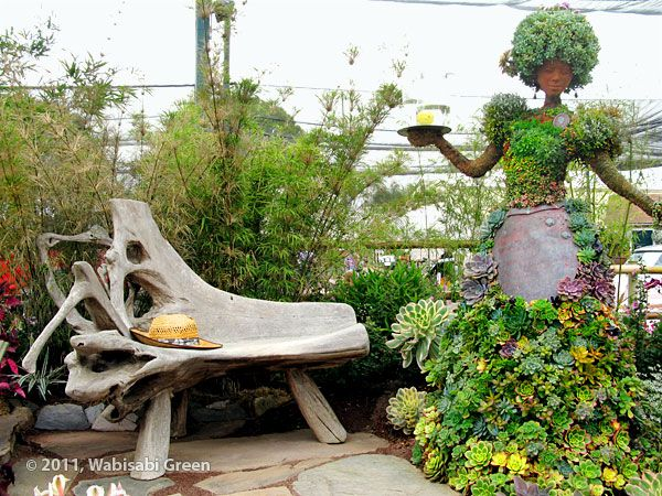 The Superbly Executed San Diego Botanic Gardenu0027s Award Winning Exhibit  Commemorated The Late Bill Teague