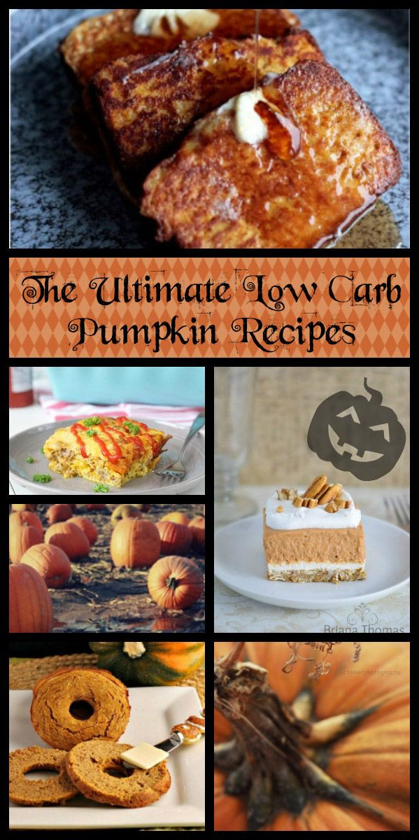 The Ultimate Collection Of Low Carb Pumpkin Recipes Yummy