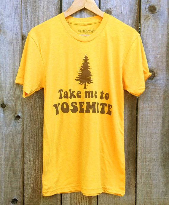 aefecac3b75 Take me to Yosemite- womens tshirt- vintage inspired-70s tshirt ...