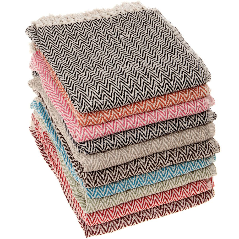 Fantastic Quality Cotton Throws For Sofa Or Bed Etc Made From 100 Low Twisted Cotton Yarn Choose From 10 Colo Arm Chair Covers Cotton Sofa Throws Sofa Throw Cotton throws for sofas