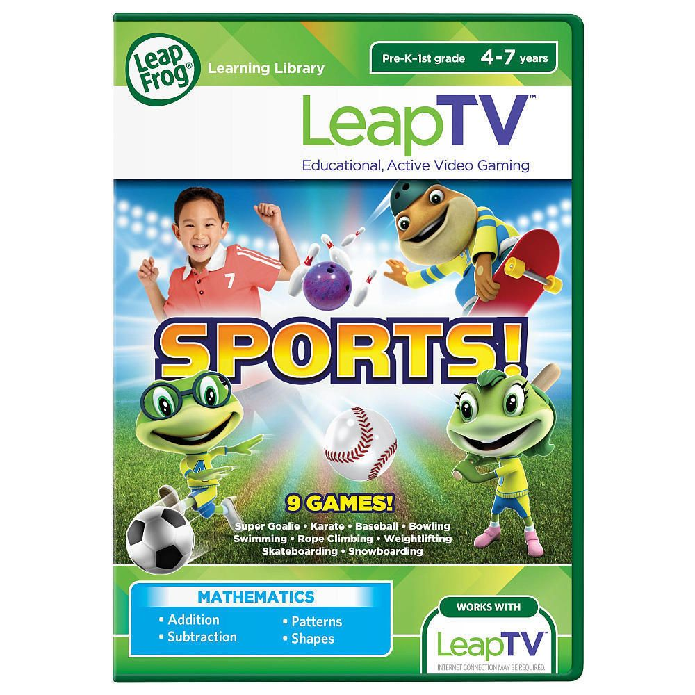 Leap Frog TV Sports! Educational, Active Video Game 9