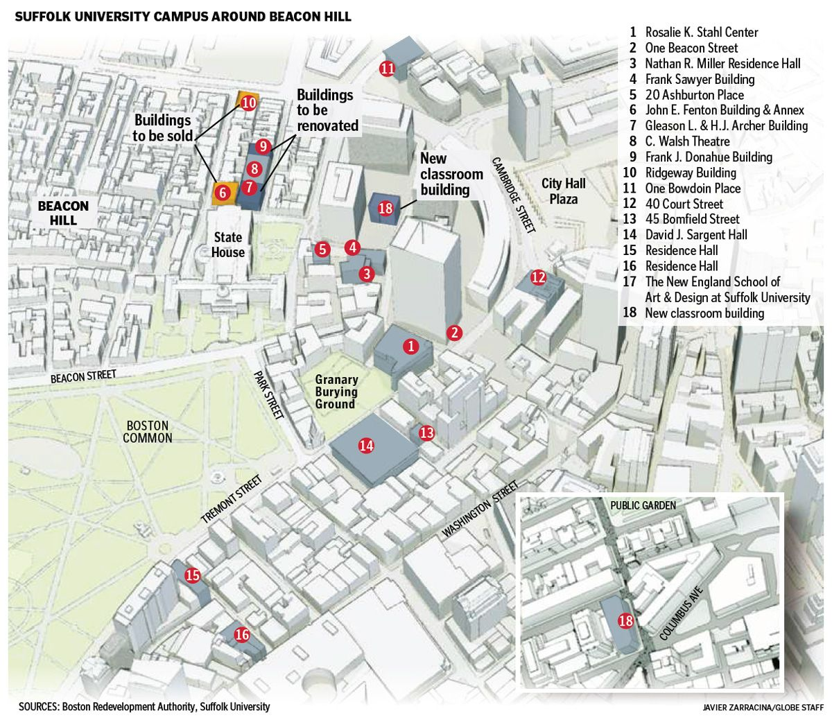 Suffolk Community College Grant Campus Map.Suffolk University Campus Map Google Search An A L Y Sis