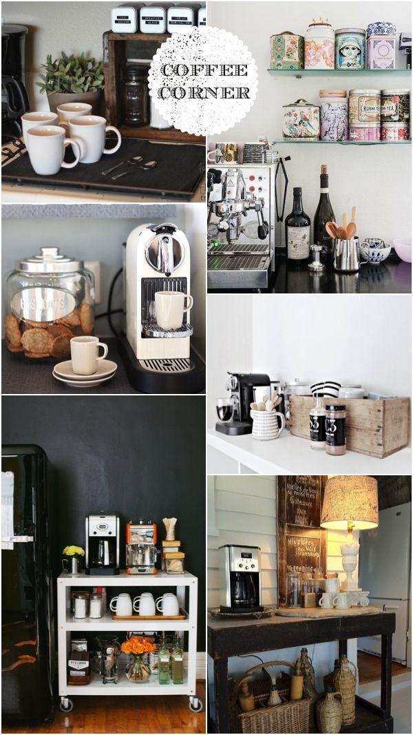 Coffee Corner Inspiration Cuisines Deco, Idee Deco, Coin Café, Coin À Café,