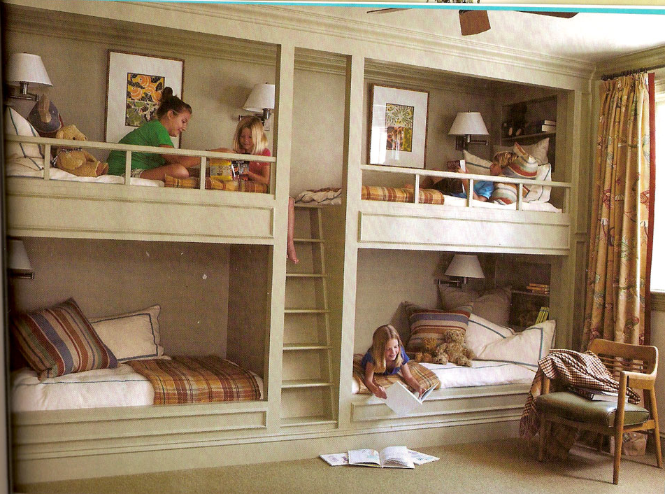 Marvelous In My Dream House I Would Have This In A Cozy Basement For When My Kids Had  Company Over For The Night. Find This Pin And More On Bunk Beds ...